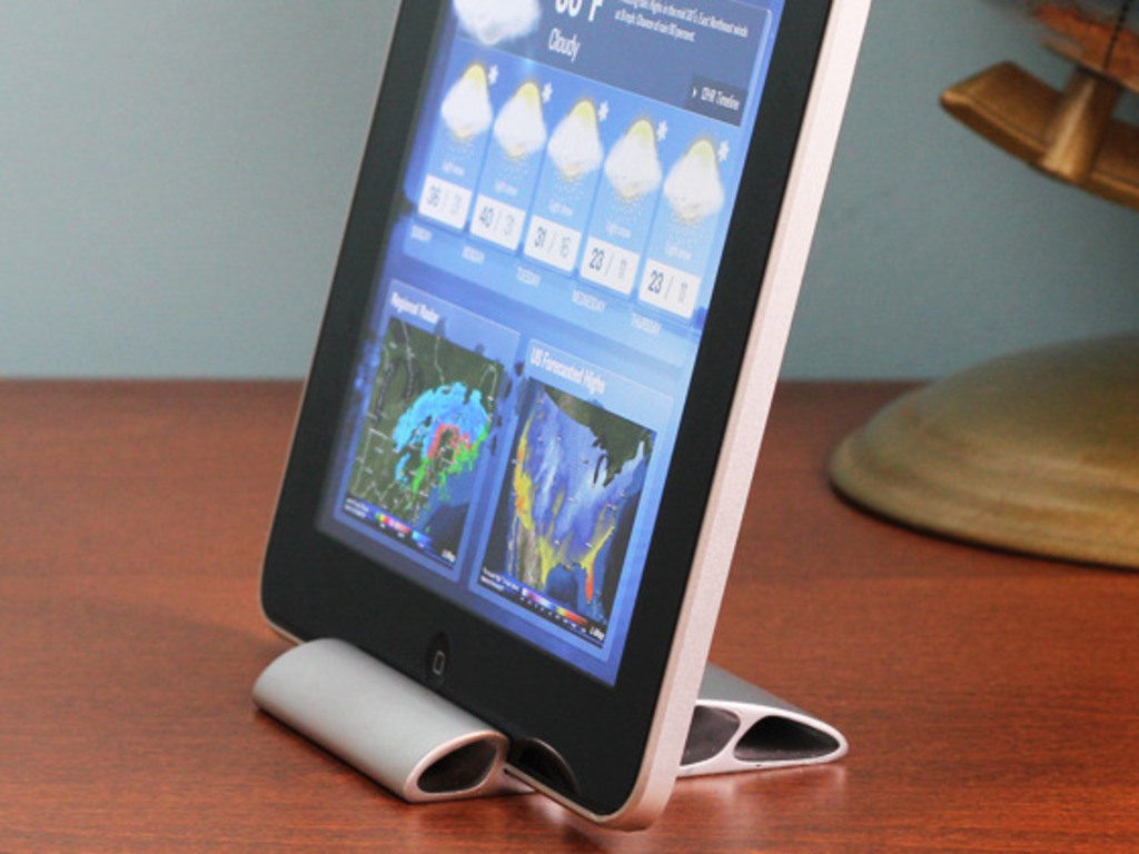 Wedge iPad stand's video poster