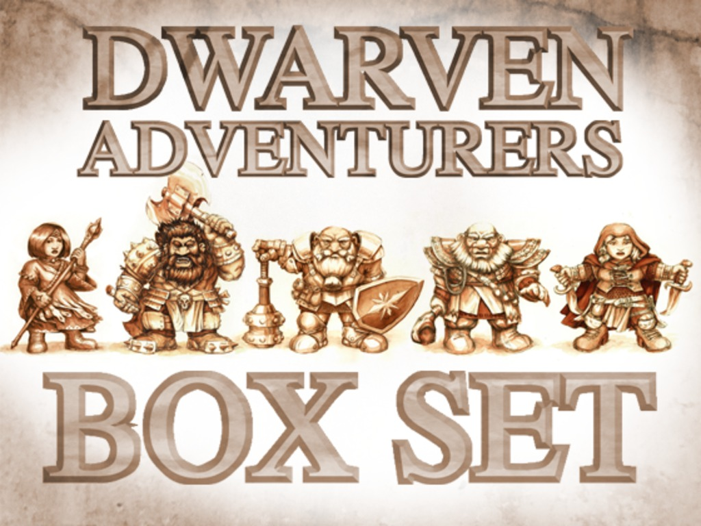 Dwarven Adventurers Box Set's video poster