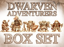 Dwarven Adventurers Box Set
