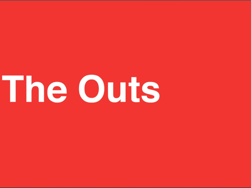 The Outs: Part 2's video poster