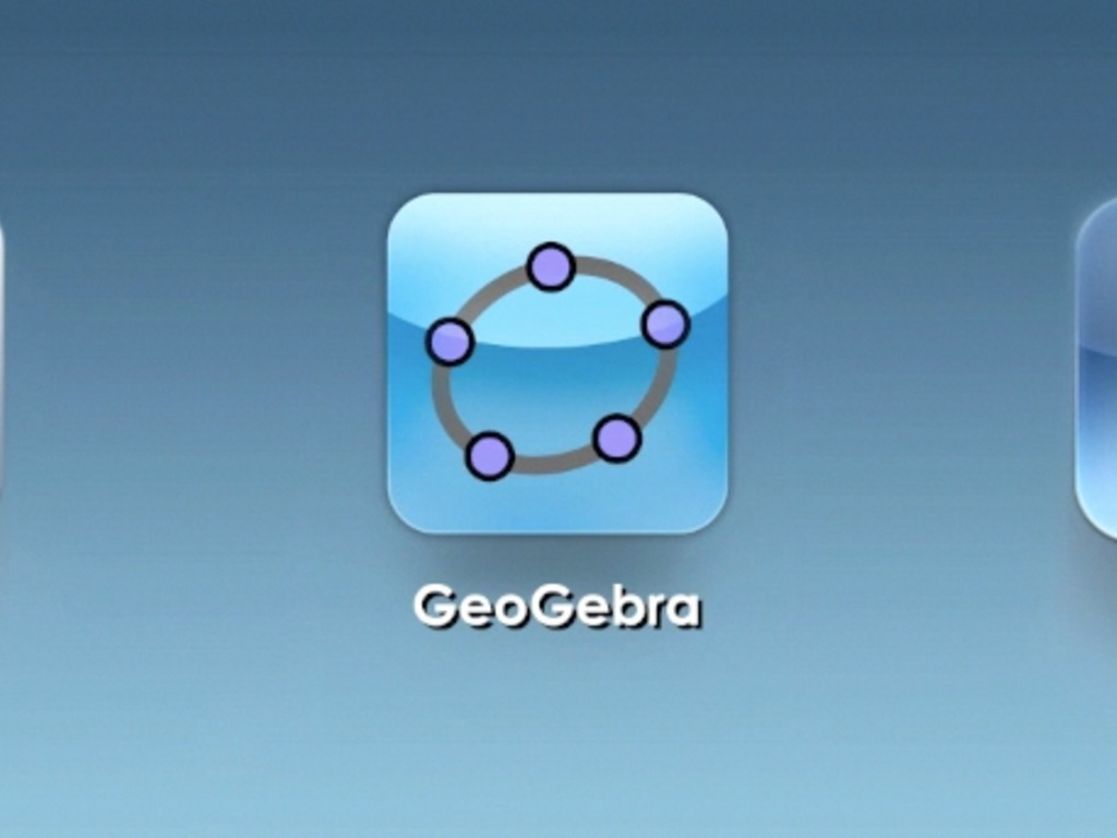 GeoGebra for tablets (iPad and Android)'s video poster