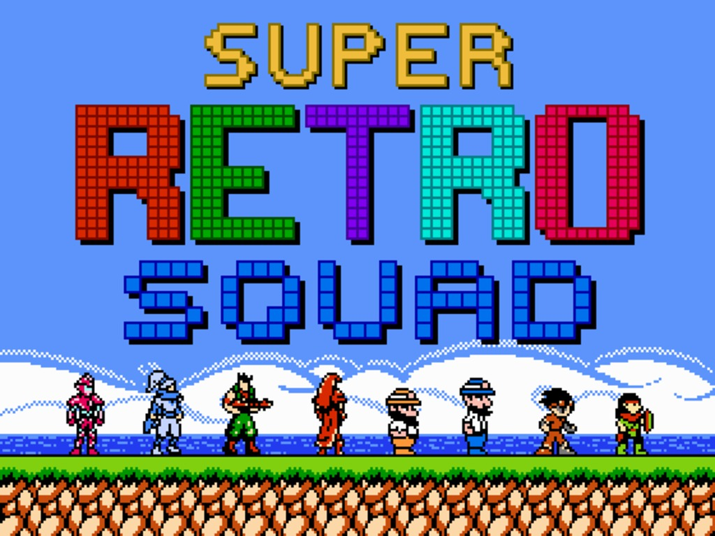 Super Retro Squad's video poster
