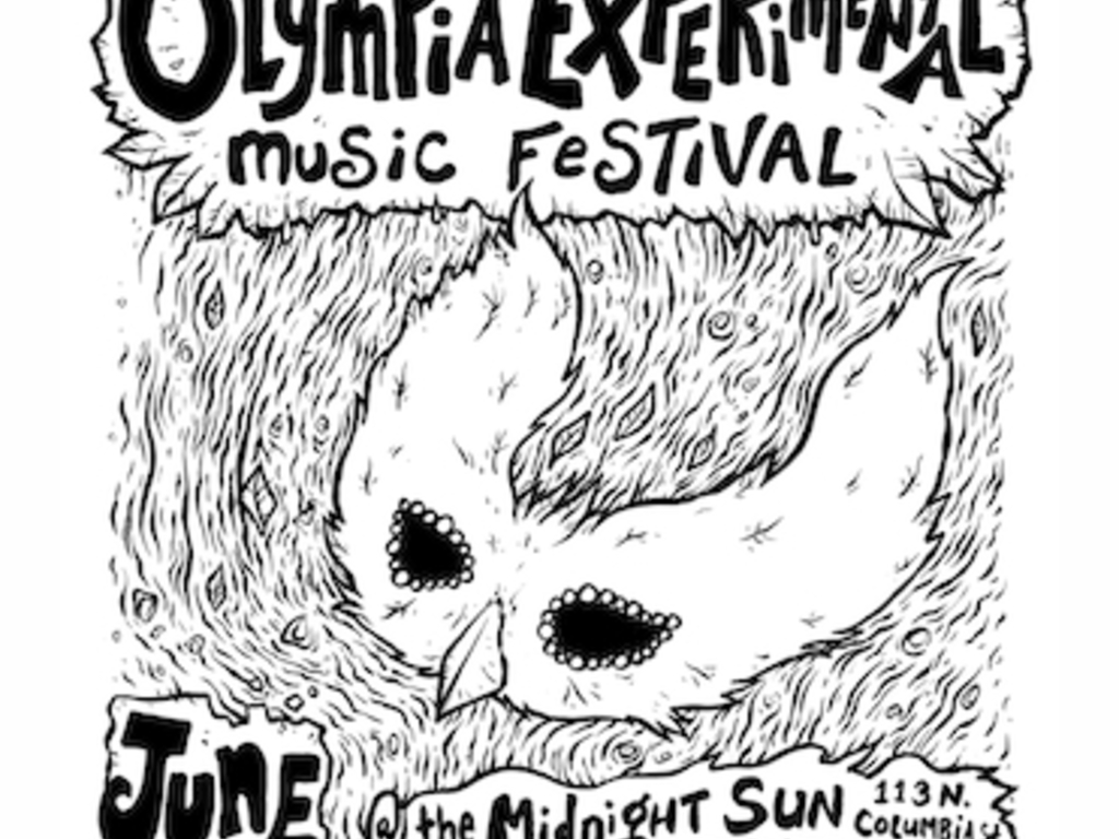 18th Annual Olympia Experimental Music Festival's video poster