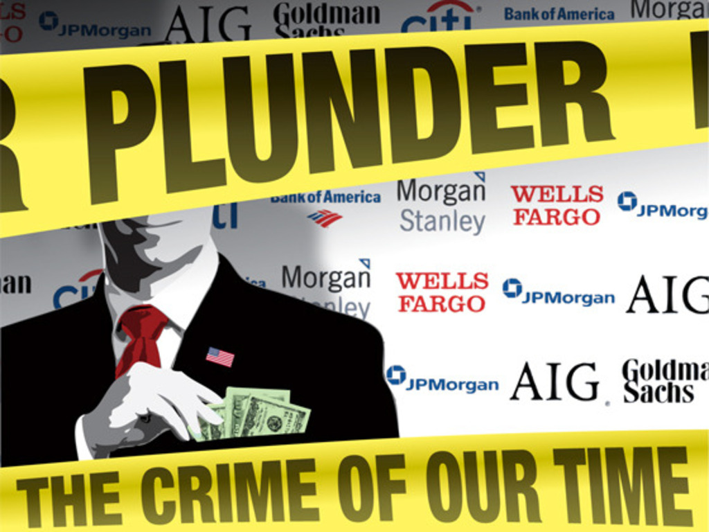 """""""Plunder: The Crime Of Our Time"""" - Help Complete The Movie That Calls For A Jailout's video poster"""