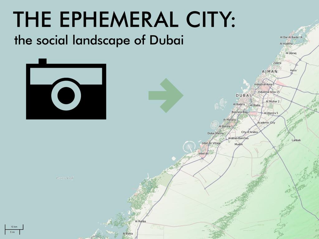The Ephemeral City: The Social Landscape of Dubai's video poster