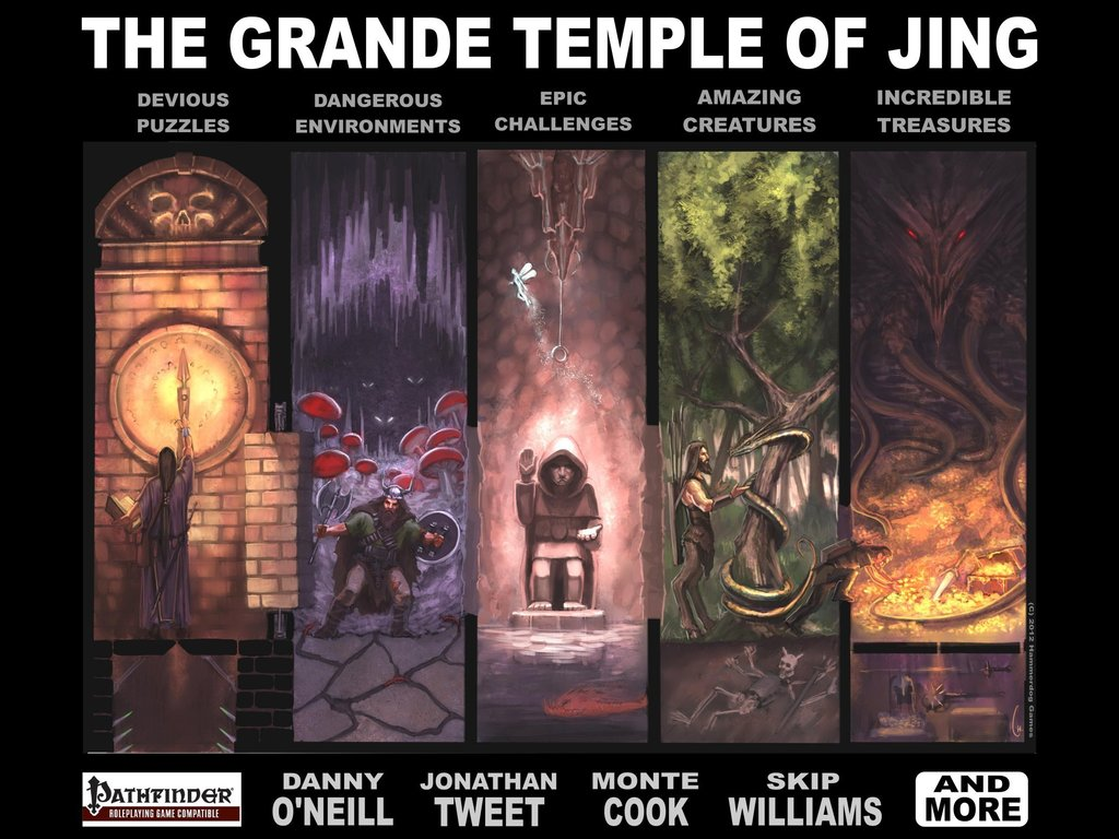 The Grande Temple of Jing (Pathfinder/Fantasy RPGs)'s video poster