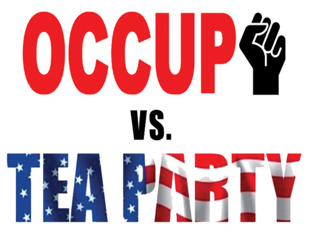 Occupy vs. Tea Party - Web Reality Show's video poster