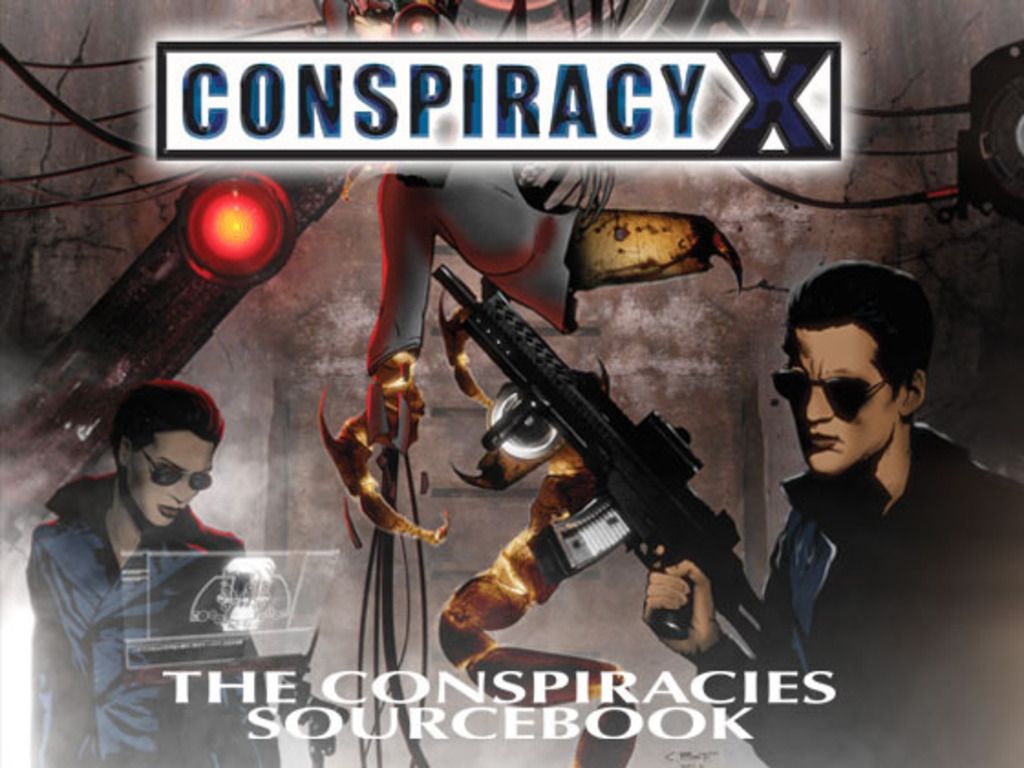 Conspiracy X The Conspiracies Sourcebook's video poster