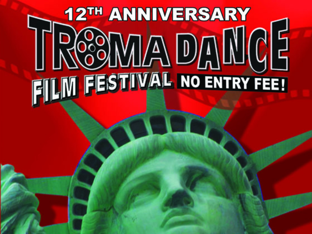 The 12th Annual Tromadance Film Festival's video poster