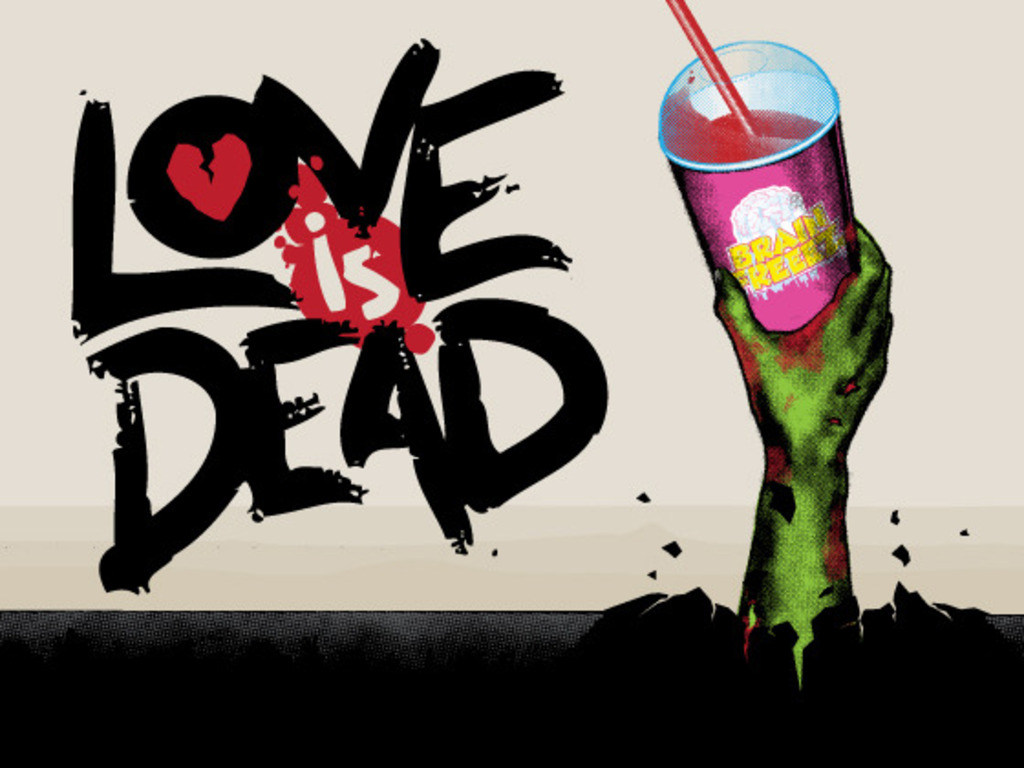 Love is Dead's video poster