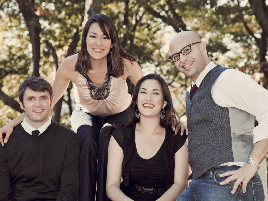 Enso String Quartet records Great Opera Masters!'s video poster