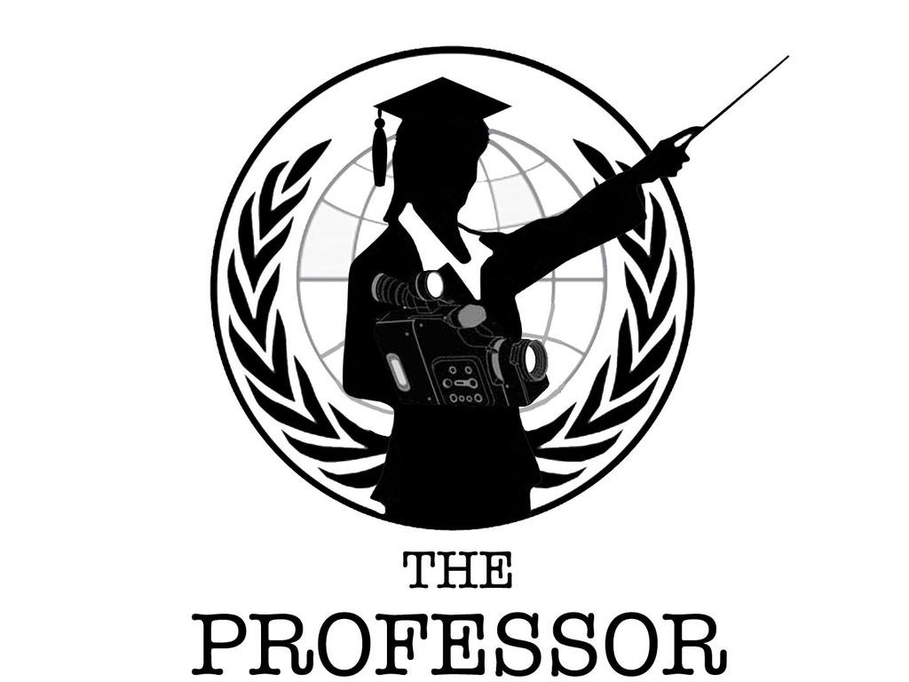 The Professor's video poster