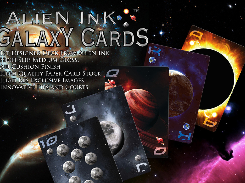 GalaxY CardS by AlieN InK (playing cards) (Canceled)'s video poster