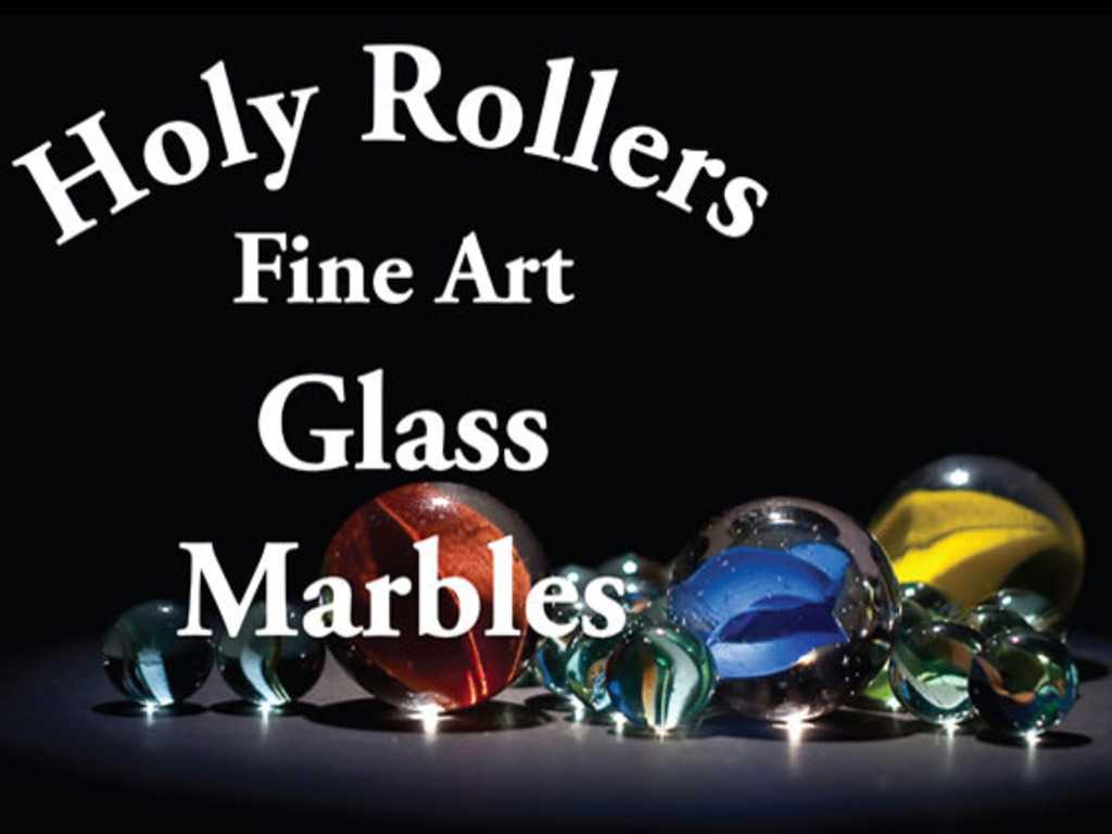 Holy Rollers - Hand Blown Glass Marbles from Holy City, CA's video poster
