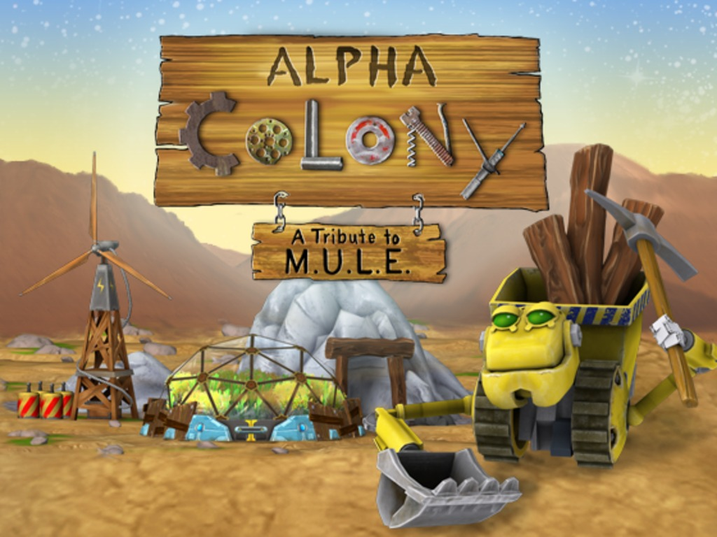 Alpha Colony: A Tribute to M.U.L.E. (Canceled)'s video poster
