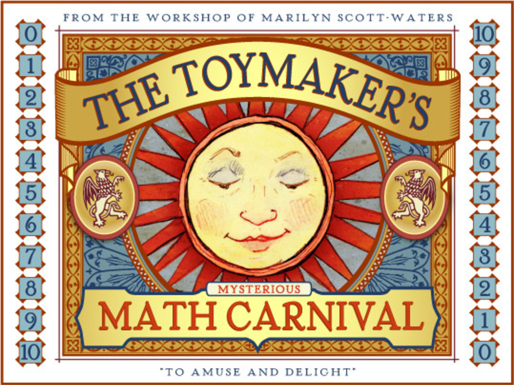 The Toymaker's Mysterious Math Carnival - To Amuse & Delight's video poster