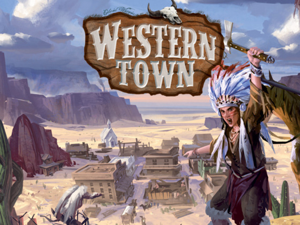 """Western Town: """"Build it well, Marshal, & Lincoln will come.""""'s video poster"""