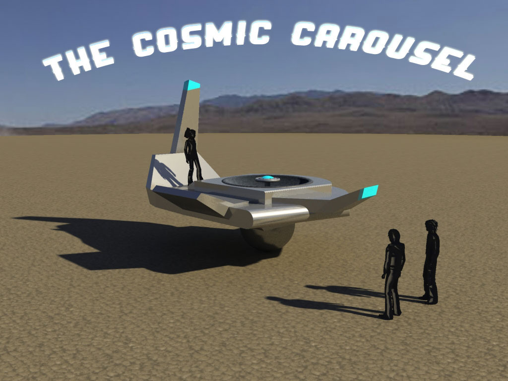The Cosmic Carousel: a human-made object for an alien world.'s video poster