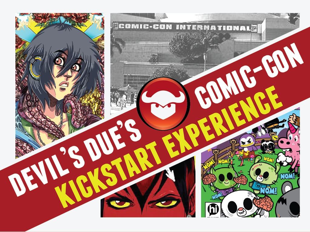 Devil's Due 14 Day Comic-Con Kickstart 2012's video poster