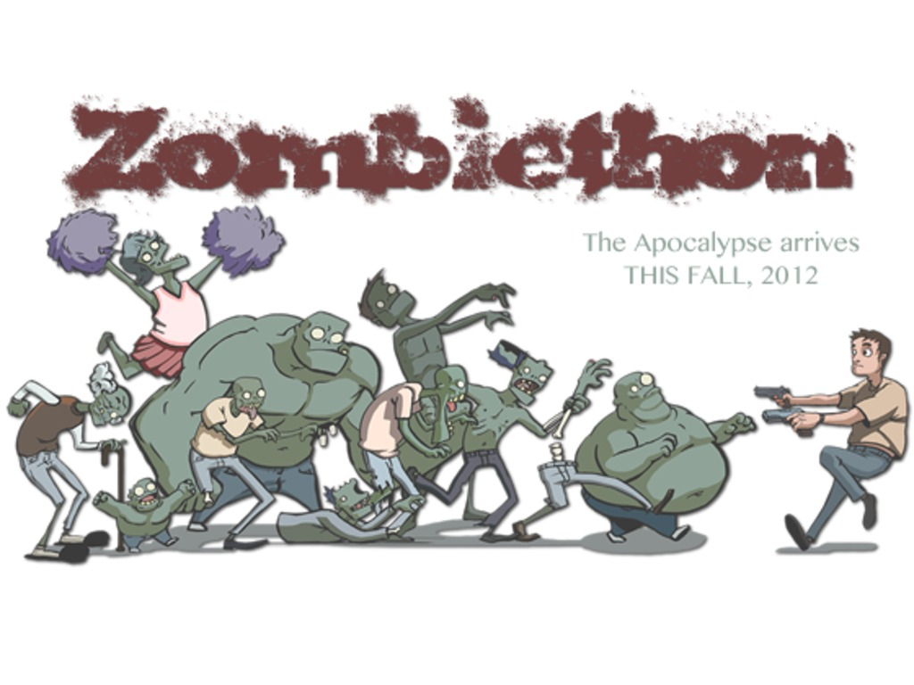 Zombiethon: Putting the Apocalypse in your Hands.'s video poster
