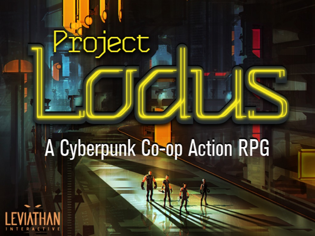 Project Lodus - A Cyberpunk Co-op Action RPG's video poster