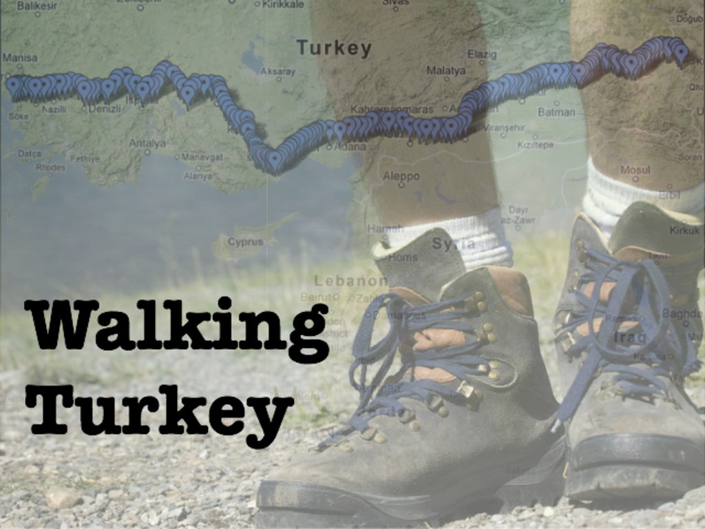 Walking Turkey: meeting a country one step at a time's video poster