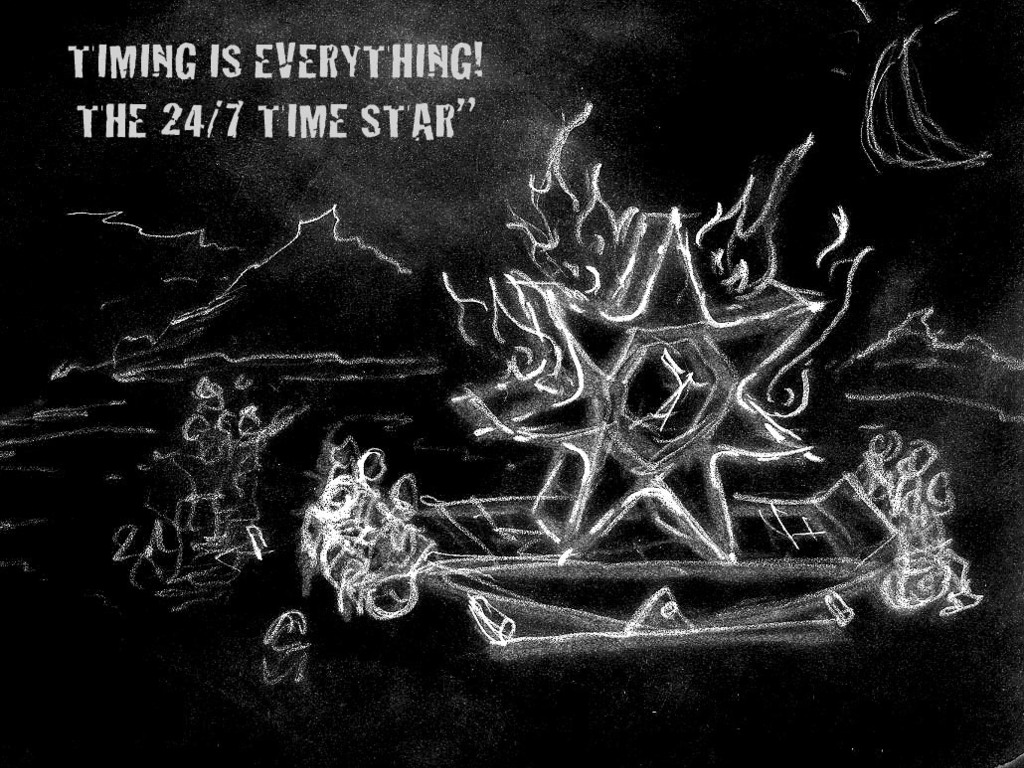 TIMING IS EVERYTHING - THE 24/7 TIMESTAR (Burning Man 2012)'s video poster