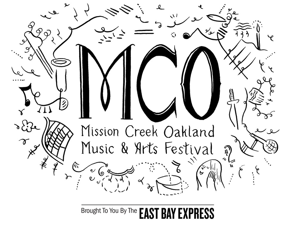 Mission Creek Oakland Music and Arts Festival 2012!!!!'s video poster