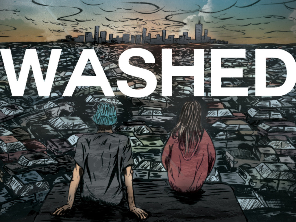 WASHED - A Short Film's video poster