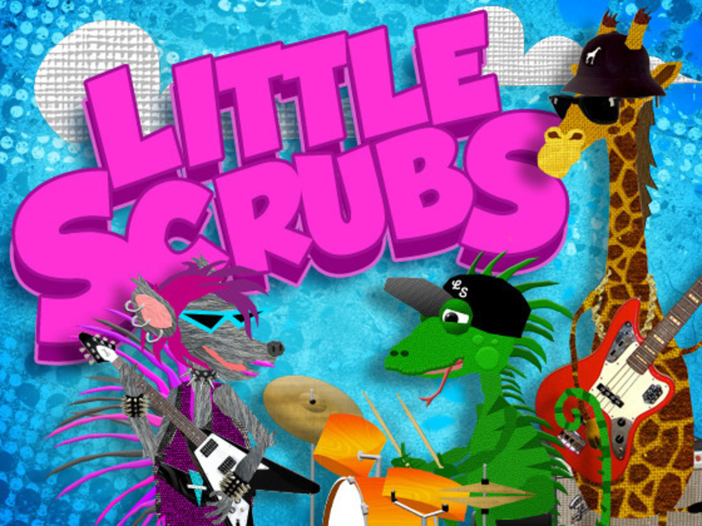 """Little Scrubs"" - fun music videos for kids and adults!'s video poster"