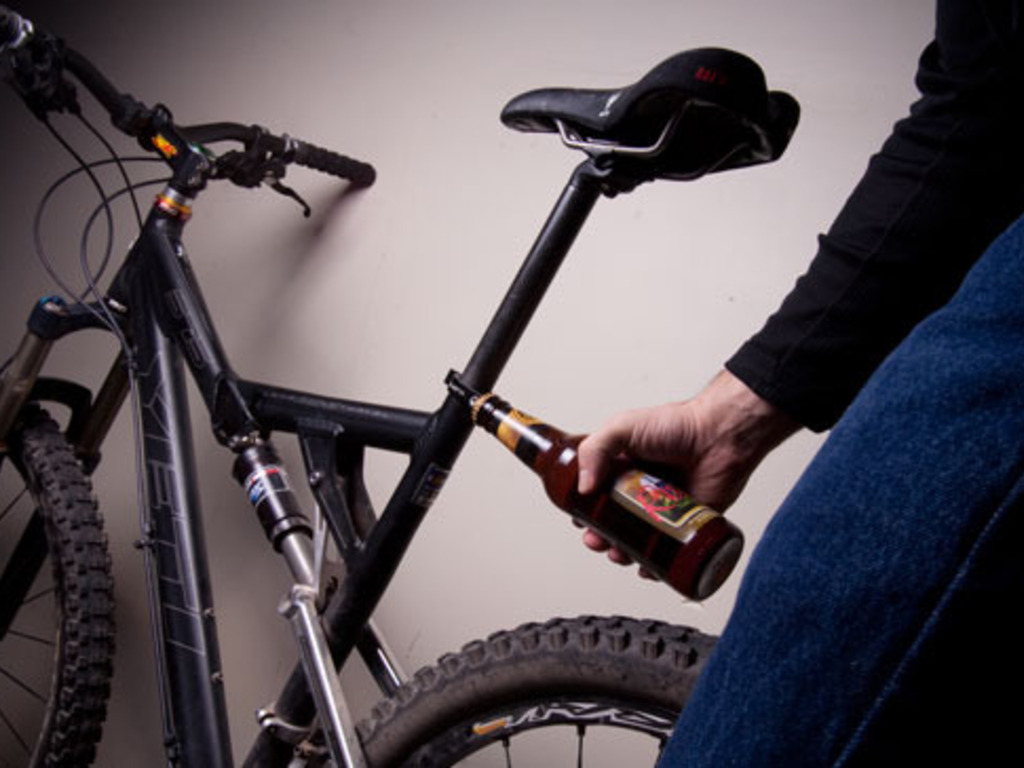 Nectar and Elixir- bike seat clamp / bottle openers's video poster