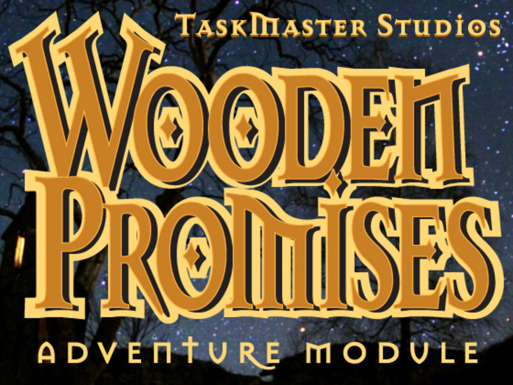 Wooden Promises - An Adventure Module for Pathfinder and CoZ's video poster