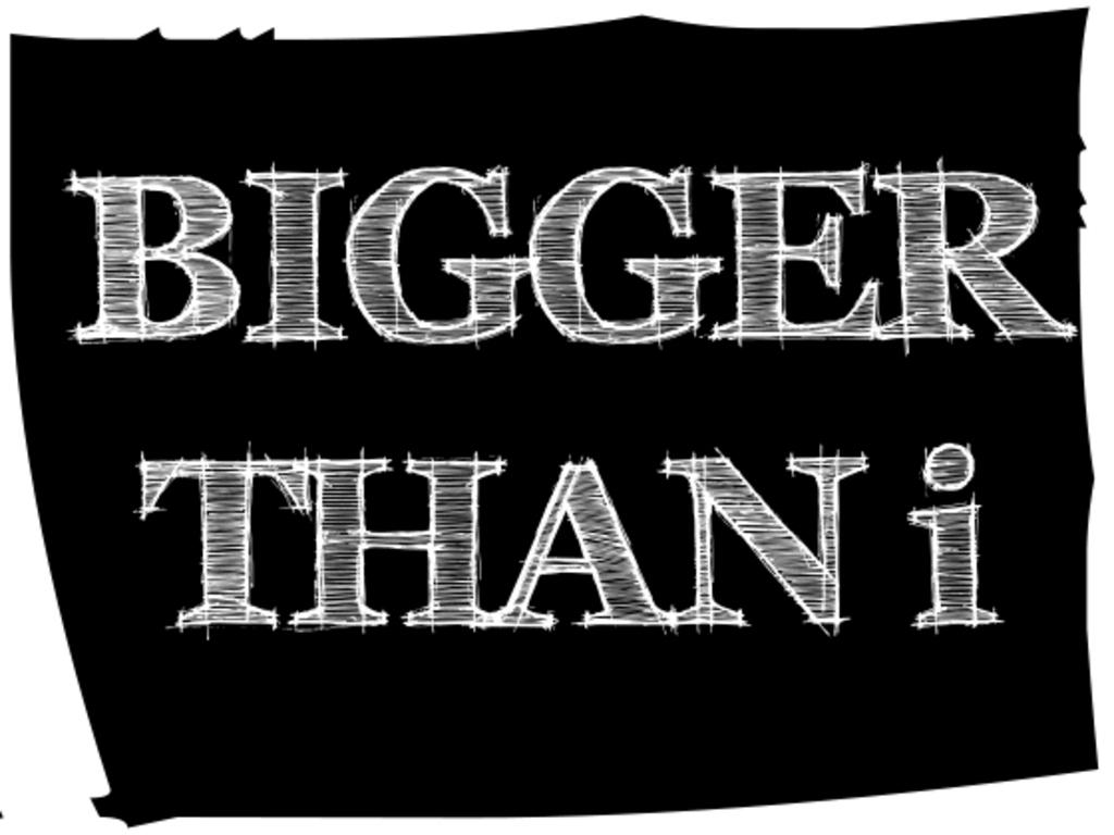 Bigger Than i's video poster