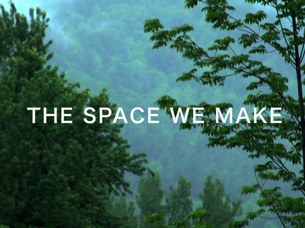 The Space We Make's video poster