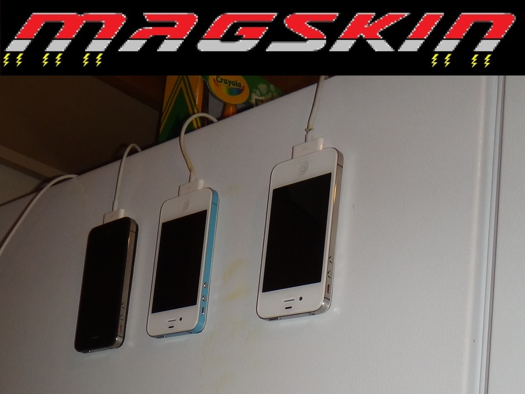 MagSkin: Very Thin Magnetic Backing For Your iPhone 4/4S's video poster