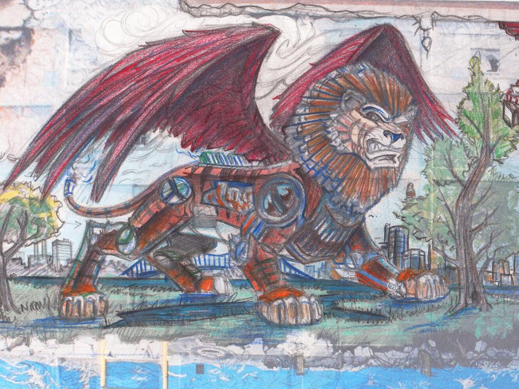 Detroit Chimera Graffiti Mural Project's video poster