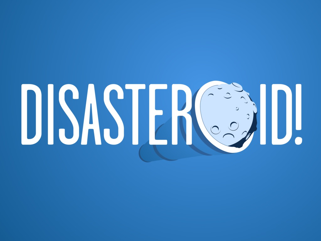 Disasteroid! The Musical's video poster