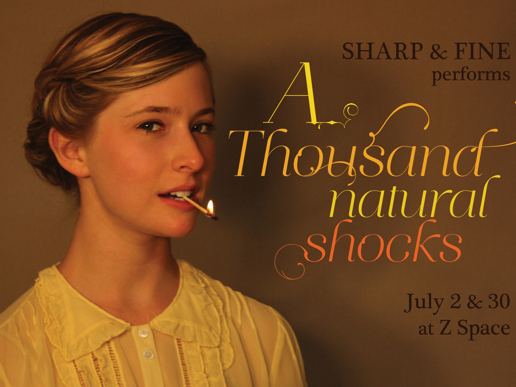 A Thousand Natural Shocks by Sharp & Fine and Kat Howard's video poster