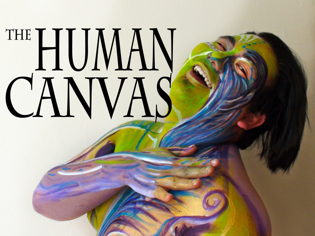 The Human Canvas Project's video poster