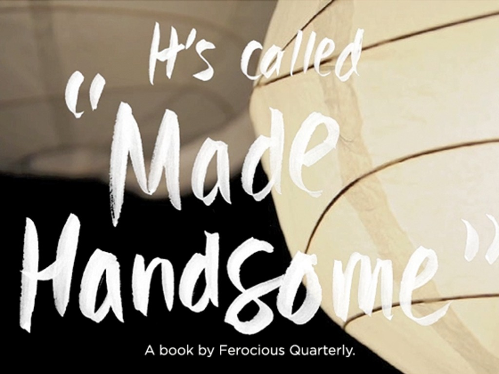 """""""Made Handsome"""": Art & Fiction Journal Inspired by Headlines's video poster"""