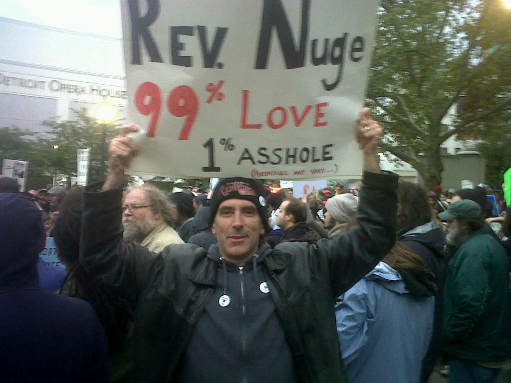 Rev. Nuge Occupies The Capital's video poster