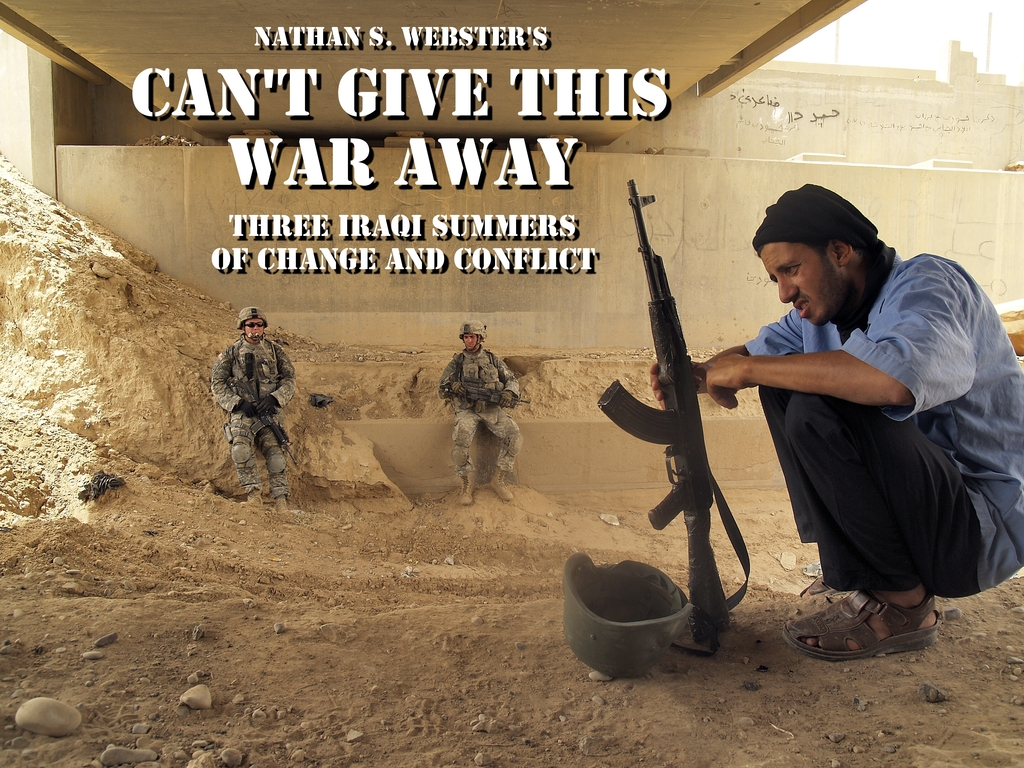 Can't Give This War Away:  Photojournalism from Iraq's video poster