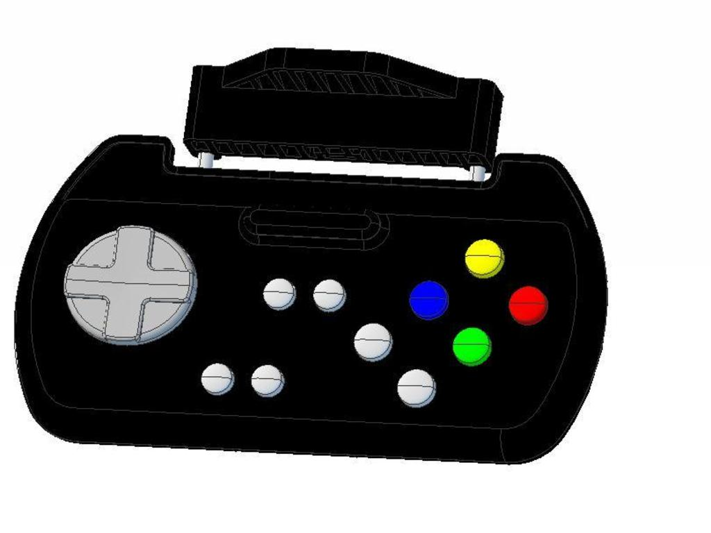 The Bluetooth Game Gripper, a game pad for your phone!'s video poster