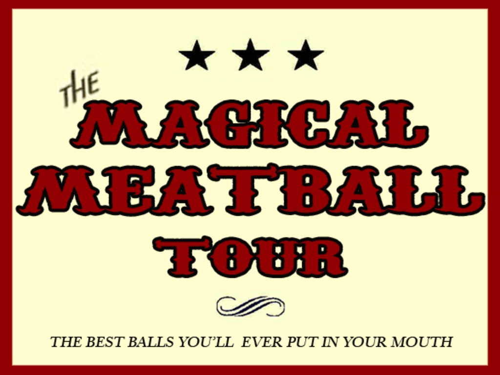 Magical Meatball Tour's video poster