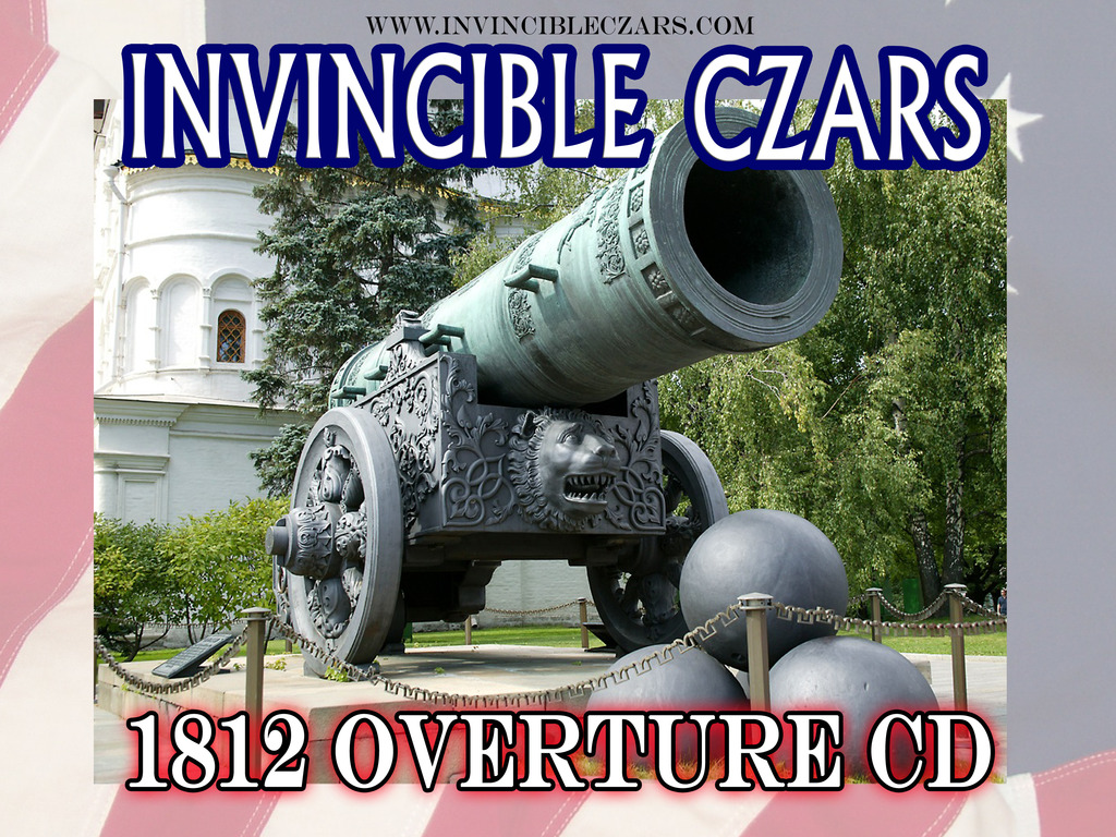 The Invincible Czars rock the 1812 Overture's video poster