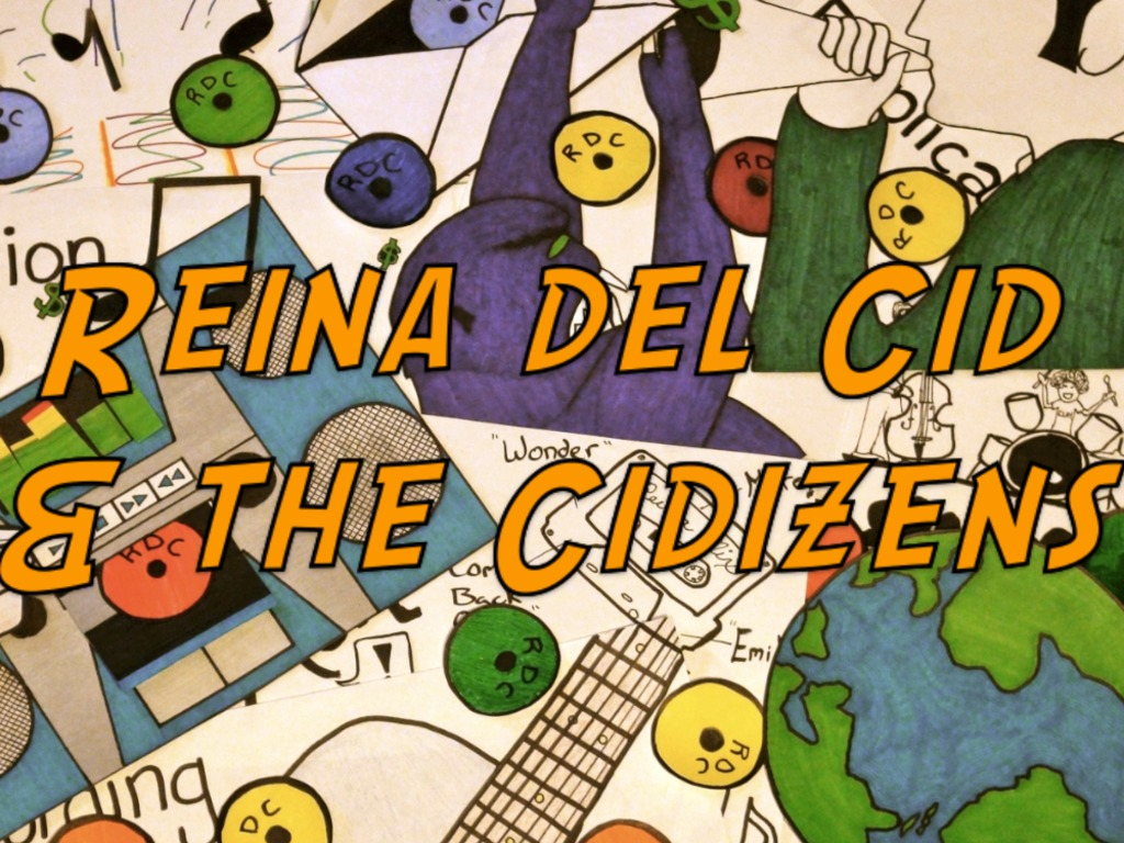 Reina del Cid and the Cidizens make an album!'s video poster