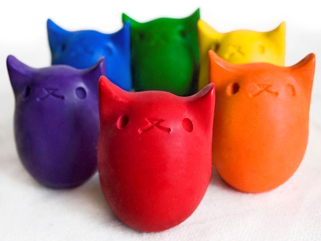 Kitty Egg Crayons- made for small hands's video poster