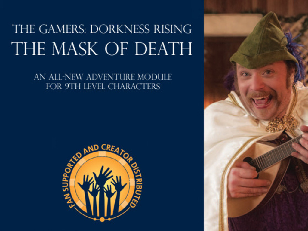 The Mask of Death's video poster