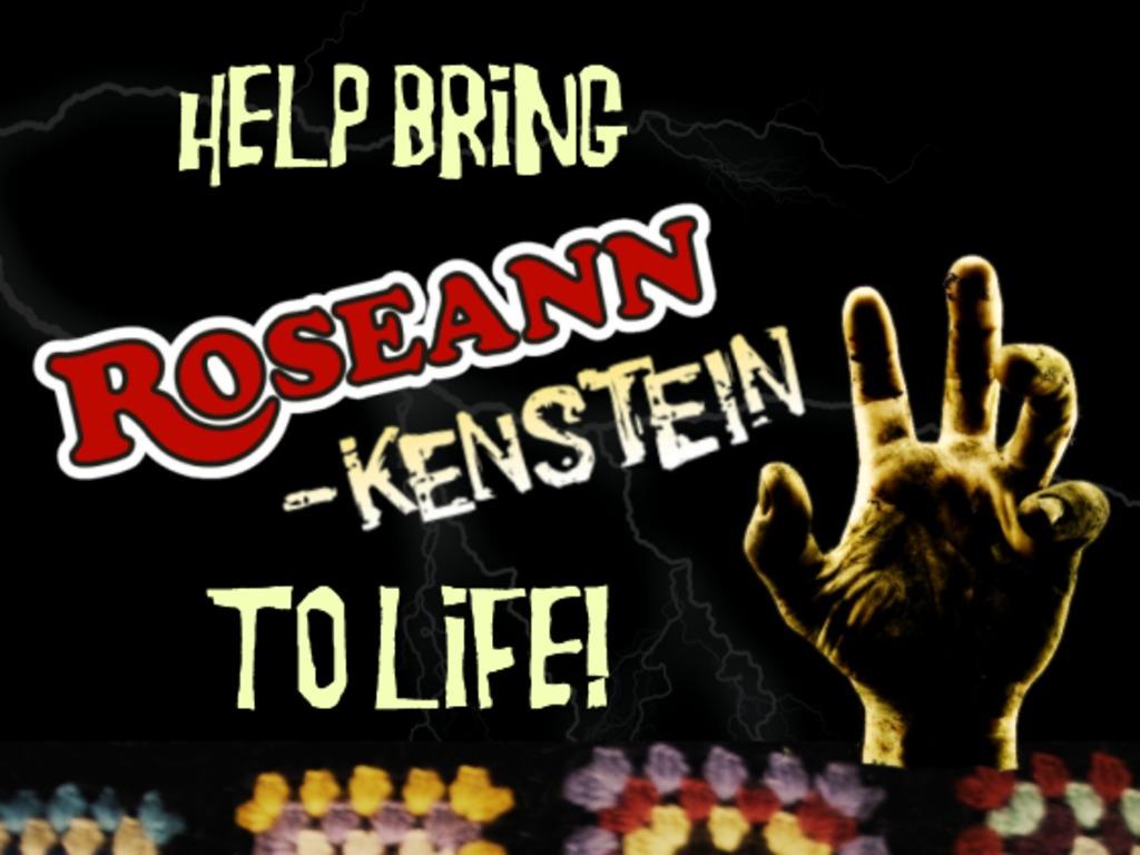 Bring Roseannkenstein to Life!'s video poster