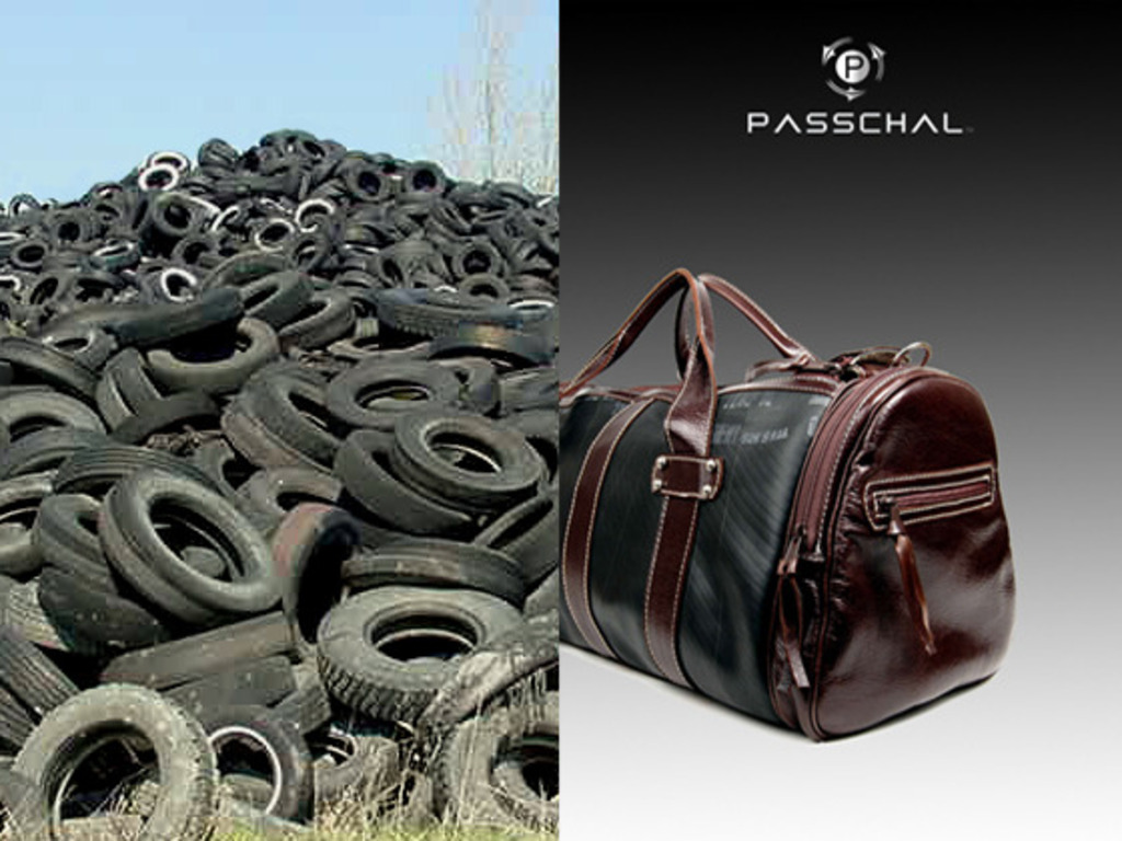 Passchal: Luxury Bags Made from Recycled Truck Inner Tubes's video poster